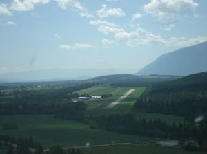 On the GPS approach into Creston
